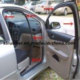 Tira de sellado de caucho EPDM para Auto para puertas y ventanas