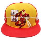 100%Acrylic Novo plano rasante era Snapback Boné Hat