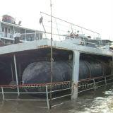 Bolsa a ar inflável cilíndrica de borracha para navios com capacidade Dwt 60, 000