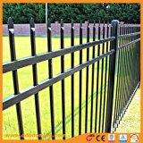 Commercio all'ingrosso della barriera di sicurezza del giardino saldato fronte di alluminio