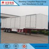 Faça logon na caixa do Reboque/Transporte logística tipo furgão semi reboque