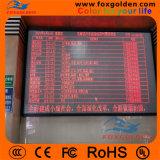 El panel de visualización video de LED de IP65 P10 para hacer publicidad