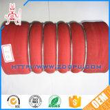 Tout droit renforcé en acier inoxydable tressé de flexible hydraulique haute pression/flexible en spirale