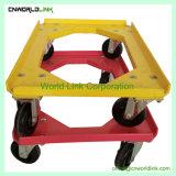 La plate-forme 4 de la Caisse de roue en plastique de Dolly de patinage de roue