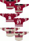Настроенные Мужчины Женщины дети западной хоккейной лиги Red Deer мятежников 2007-2015 альтернативных Хоккей Джерси