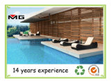 Le rotin Outdoor Chaises longues confortables chaises longues en bordure de piscine Armless