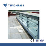 4-6mm Cristal Vidrio persiana persiana para Windows/puertas/Escaleras valla