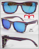 Novos óculos de sol de madeira e bambu com lente polarizada (WS001-WS020)