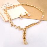 Collana africana dell'oro dei monili all'ingrosso di modo che Wedding l'insieme nuziale dei monili