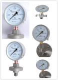 40mm corrosão de qualidade superior - O medidor de pressão de diafragma resistente