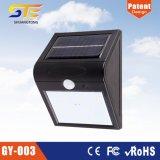 Lumière solaire de mur