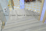 Кристально чистое дерево белый и серый мрамор для пол мраморный камень слоя