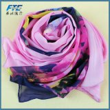 Шаль шарфов естественных реальных Silk женщин шарфа высокого качества длинняя