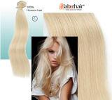 Clip en pelo 100g/120g/160g por paquete, clips Lbh 120 de la calidad #613 Remy de la extensión del pelo humano el mejor