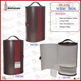 Caixa de oferta de garrafa de vidro de vinho (1026)