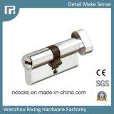 60mm do cilindro de bloqueio de latão de alta qualidade de fechaduras de portas Rxc01