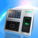 Controle de atendimento e acesso ao tempo Facial com bateria embutida (FA1-H)