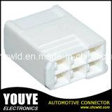 cable connecteur 6p en plastique automobile électrique femelle pour le véhicule de Toyota