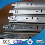 T Bar / Acier Galvanisé Tiling T Bar (ISO, SGS) avec du zinc. 60-270g