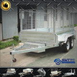Reasonable Price (SWT-HTT95)를 가진 현탁액 Tipping Utility Box Full Trailer