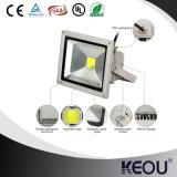 Des netten Entwurfs-dünnes LED Aluminiumflutlicht Flut-des Licht-50W des reflektor-LED