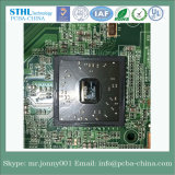 Ensamblaje de placa de circuito impreso (PCB) con componentes electrónicos
