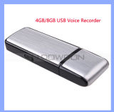 Portable rechargeable 4 Go 8 Go Audio Enregistreur vocal Dictaphone