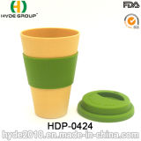 Mehrfachverwendbarer gute Qualitätsbambusfaser-Cup-Arbeitsweg-Becher (HDP-0424)