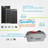 Factory Direct IP65 30W Solar LED Bridgelux Rue Prix de l'éclairage