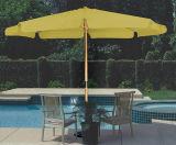 木の傘、日傘、庭の傘