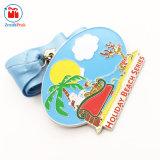 Medaglia su ordinazione della spiaggia di festa del sole del metallo della fabbrica decorativa