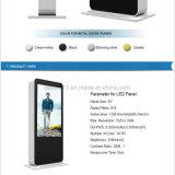 5555 дюймов напольный LCD рекламируя Displayer