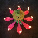 لون عيد ميلاد شمعة [روأتينغ] شمعة