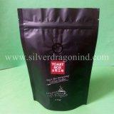 Мешок кофейного зерна бортового Gusset пластичный с застежкой -молнией