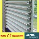 Sol de aluminio de obturador de la ventana de persiana Shade 132s rejillas