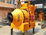 Horizontale runde Wannen-Betonmischer-Aufbau-Maschine der Qualitäts-Jq500