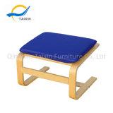 Produto novo estilo simples banco de madeira Otomano