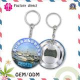 50mm Carry-onandenken für runde Form reisenden Keychain Öffner