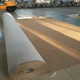 El sisal natural el respaldo de látex de pared a pared moqueta y alfombras de sisal
