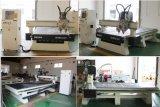 切断CNC機械に細長い穴をつける木製のドアの家具の彫版のための二重ヘッドAtc CNCのルーター