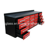 Металлический ящик для инструмента кабинета Workbench для гаража и практикум (MW01-5)