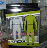 Caja plástica impresa aduana para la ropa (empaquetado del regalo)
