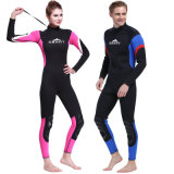 O sustento aquece o Wetsuit de 3mm & o terno surfando dos homens de uma peça só do estiramento de Suit&Super do mergulho do neopreno