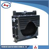Radiador de aluminio de la refrigeración por agua del radiador del radiador de L3e-1 Genset