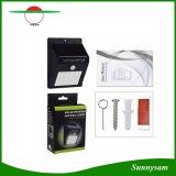 20 LED Solar Garden Sensor Light Outdoor Solar LED lâmpada de parede Focos à prova de água Patio Pathway Iluminação de emergência