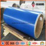 Bobine en aluminium enduite par couleur d'Ideabond avec le militaire de carrière (IDEABOND)