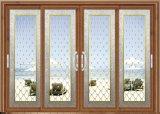 Perfil de ligas de alumínio Metal vidro corrediço de porta de vidro Painel interiores/exteriores de portas