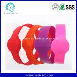 Wristbands бирки кольца RFID Nfc для управления неограниченного доступа