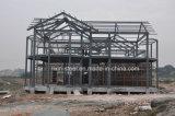 Edifício Prefab forte da casa de campo da construção de aço do tempo da longa vida