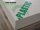 Лист PVC трудной лоснистой белизны твердый